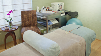 Treatment Room at Blue Sage Day Spa in Sedona AZ